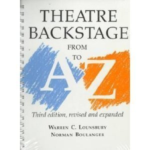9780295968285: Theatre Backstage from A to Z