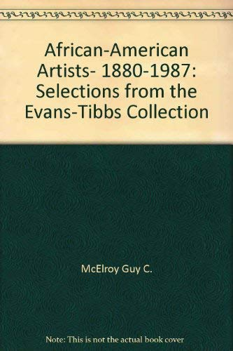 9780295968377: African-American artists, 1880-1987: Selections from the Evans-Tibbs Collection
