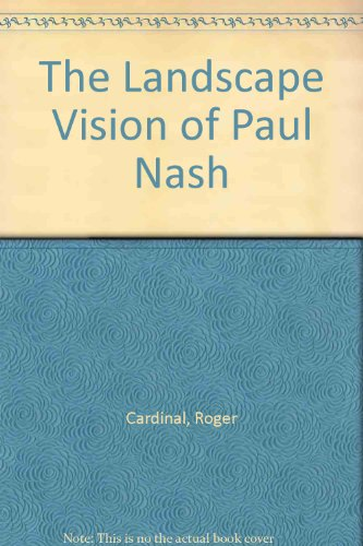 9780295970332: The Landscape Vision of Paul Nash