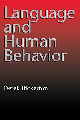 Language and Human Behavior (Jessie and John: Derek Bickerton