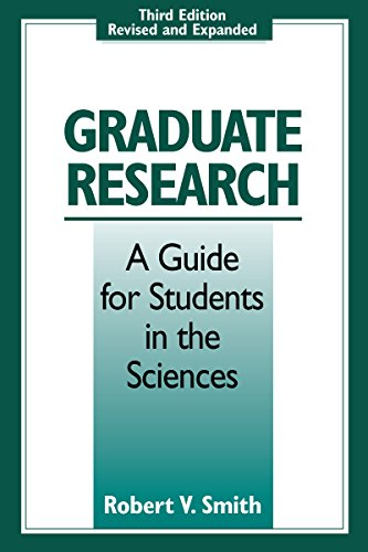 9780295977058: Graduate Research: A Guide for Students in the Sciences, Third Edition, Revised and Expanded