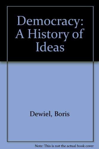 9780295981062: Democracy: A History of Ideas