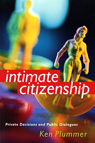 9780295983318: Intimate Citizenship: Private Decisions and Public Dialogues (The Earl and Edna Stice Lecture-Book Series in Social Science)