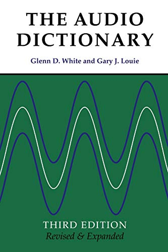 9780295984988: The Audio Dictionary: Third Edition, Revised and Expanded