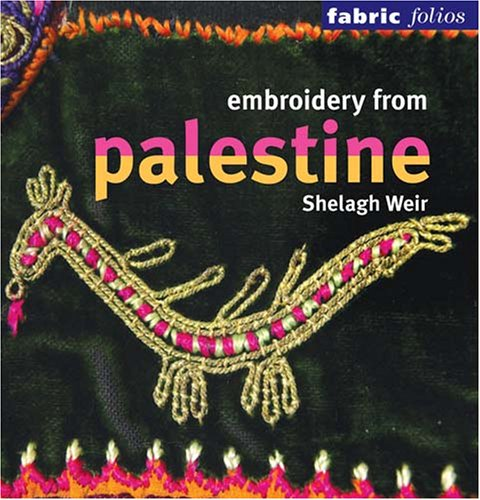 9780295986609: Embroidery from Palestine (Fabric Folios)