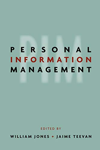 9780295987378: Personal Information Management
