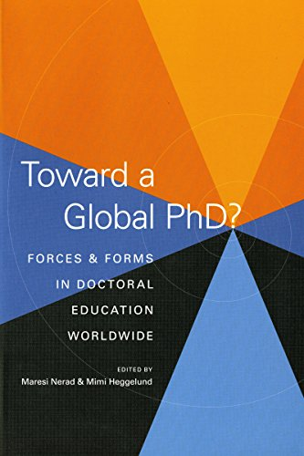 9780295988023: Toward a Global Phd?: Forces and Forms in Doctoral Education Worldwide