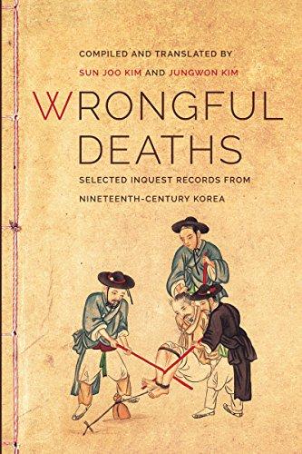 9780295993126: Wrongful Deaths: Selected Inquest Records from Nineteenth-Century Korea (Korean Studies of the Henry M. Jackson School of International Studies)