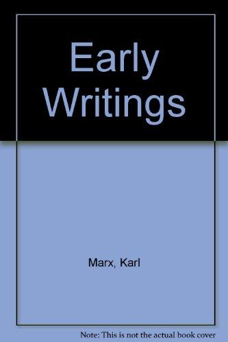 9780296347003: Early Writings