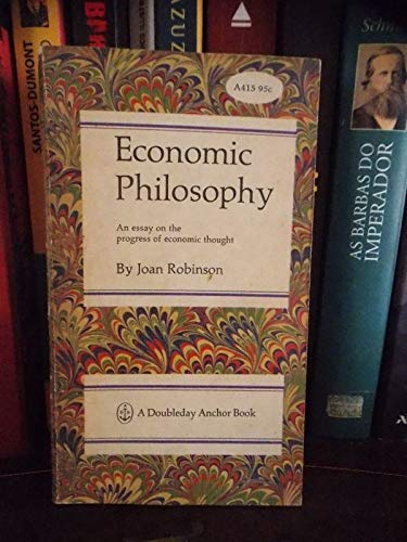 9780296348284: Economic Philosophy (New Thinkers Library)