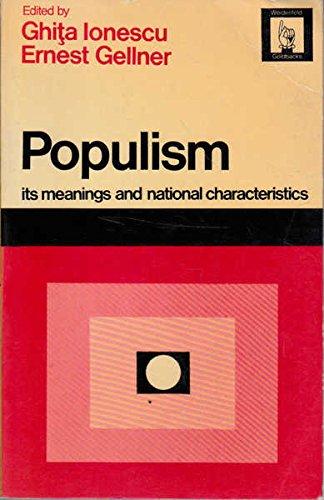 9780297000563: Populism
