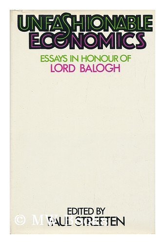 Unfashionable Economics