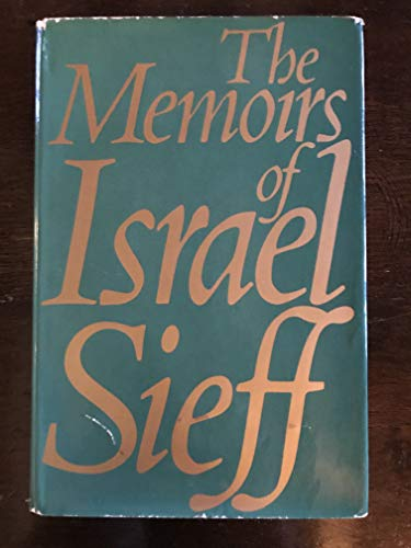 Memoirs: Sieff, Israel