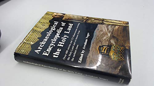 9780297002598: Archaeological Enclyclopaedia of the Holy Land