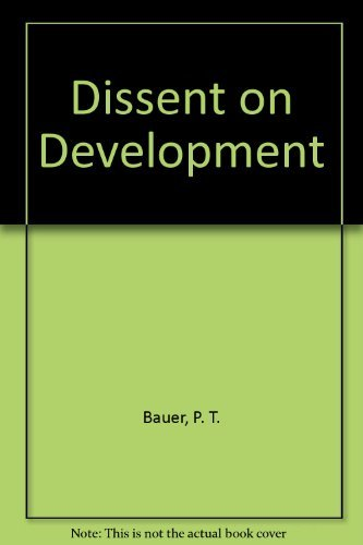 9780297002826: Dissent on Development