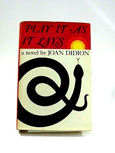 9780297003298: Play it as it Lays