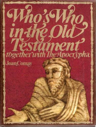 9780297004097: Who's Who in the Old Testament, Together with the Apocrypha