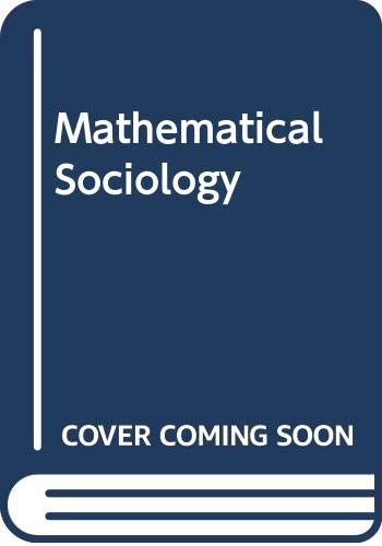 Mathematical Sociology: Steuer, Max, Holland,