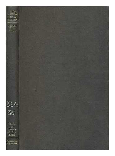 9780297178323: Making of a Criminal (Nature of Human Society)