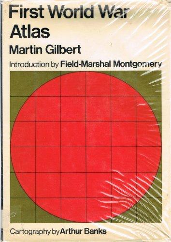 9780297178460: First World War Atlas