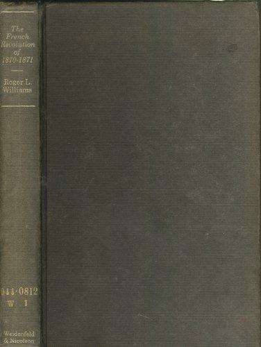9780297179191: French Revolution, 1870-71 (Revolutions in the modern world)