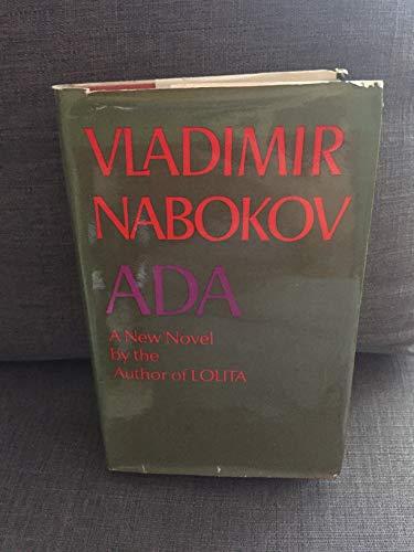 9780297179351: Ada or Ardor: A Family Chronicle