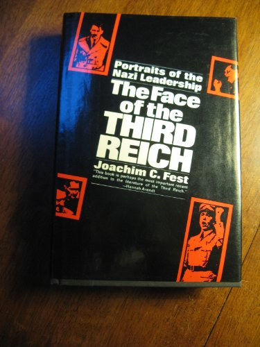 9780297179498: Face of the Third Reich