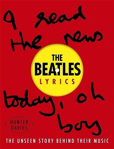 9780297608127: The Beatles Lyrics