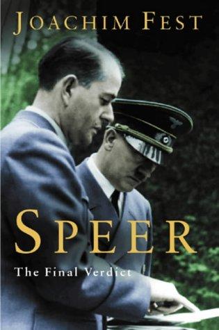 9780297646167: Speer: The Final Verdict