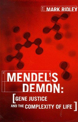 9780297646341: Mendel's Demon