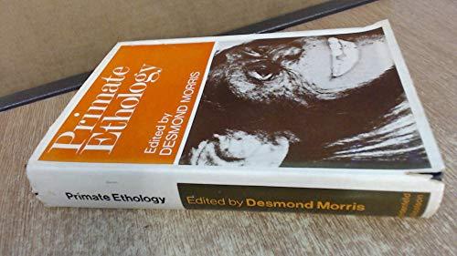 9780297748281: Primate Ethology