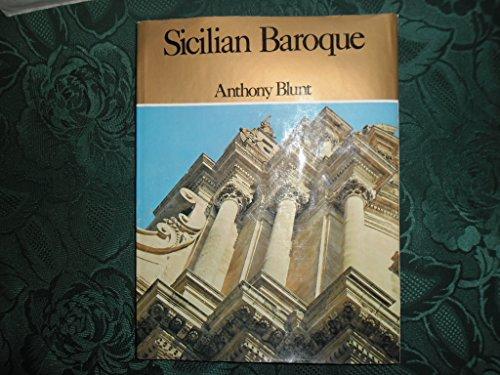 9780297764403: SICILIAN BAROQUE.