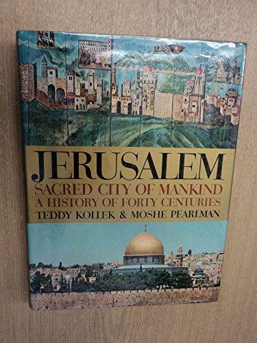 Jerusalem: Pearlman, Moshe, Kollek,