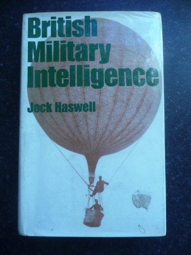 9780297765080: British Military Intelligence