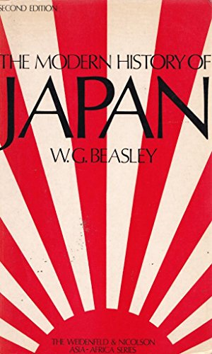9780297766049: Modern History of Japan (The Weidenfeld & Nicolson Asia-Africa series)