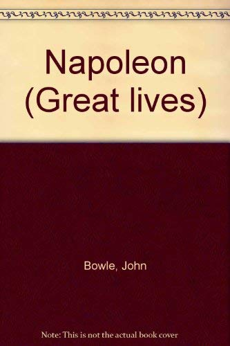 9780297767091: Napoleon (Great Lives)