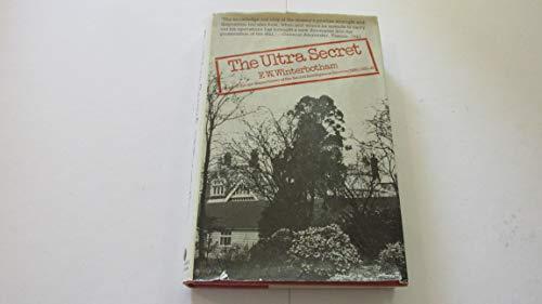 9780297768326: The Ultra Secret