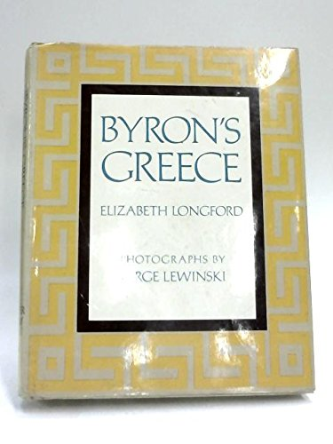 9780297769866: Byron's Greece