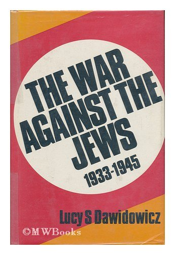 9780297770138: War Against the Jews, 1933-45