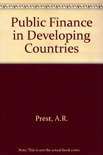9780297770510: Public Finance in Developing Countries