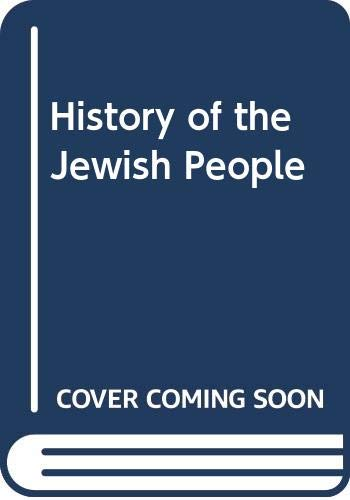 9780297770701: History of the Jewish People