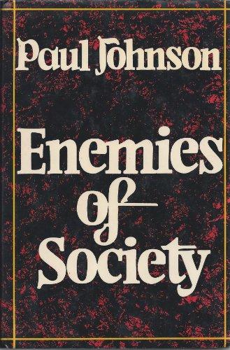 9780297772941: Enemies of Society
