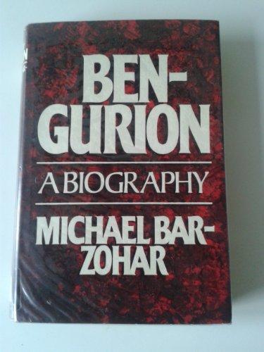 9780297774013: Ben-Gurion