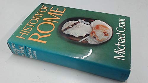 9780297774617: History of Rome