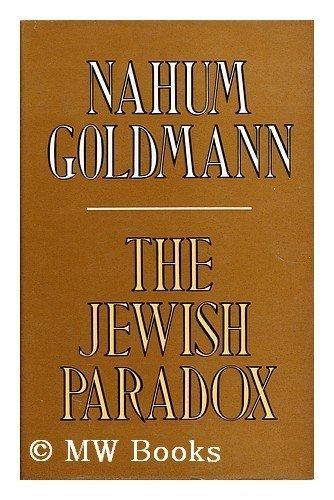 9780297774945: Jewish Paradox