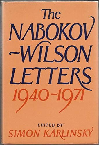 9780297775805: Nabokov-Wilson Letters, 1940-41