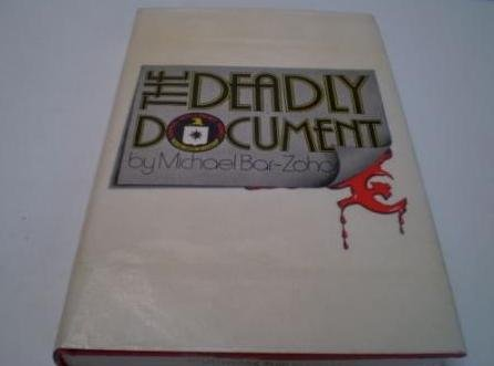 9780297776253: Deadly Document
