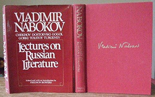 9780297778868: Lectures on Russian Literature: Chekhov, Dostoevski, Gogol, Gorky, Tolstoy, Turgenev