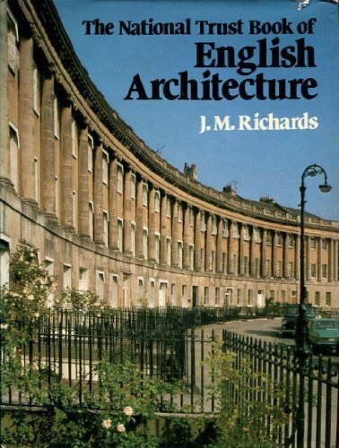9780297779018: The National Trust book of English architecture