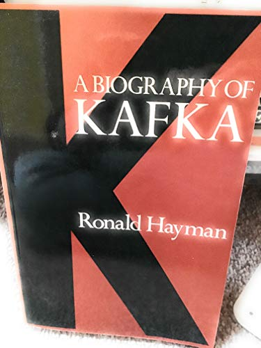 9780297779964: K: Biography of Kafka